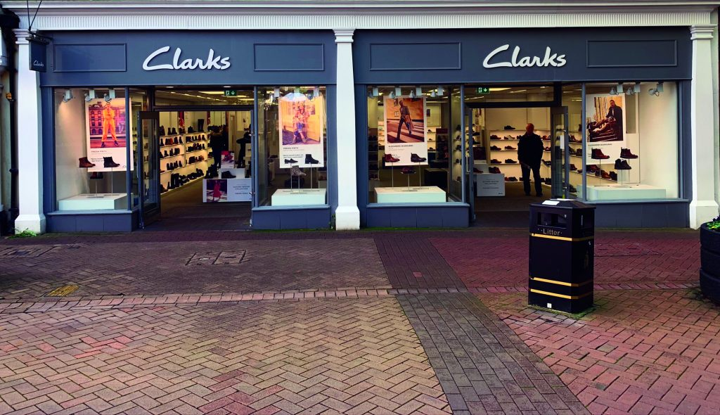 Clarks store front