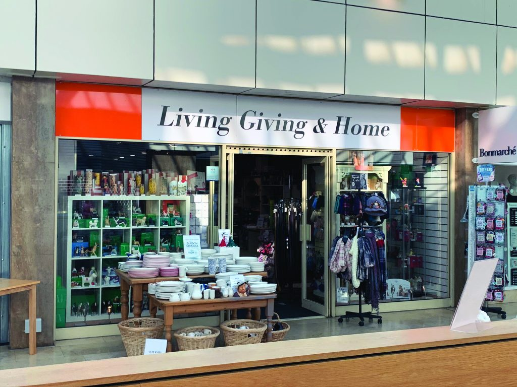 Living Giving & Home store front