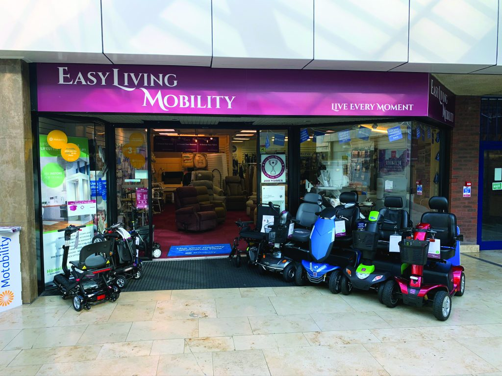 Easy Living Mobility store front